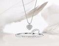 Diamond gold jewelry set Royalty Free Stock Photo