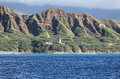 Diamond Head Lighthouse Royalty Free Stock Photo