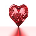 Diamond heart Stock Photos