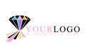 Diamond Logo Royalty Free Stock Images