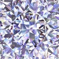 Diamond pattern of colored brilliant triangles