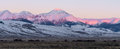 Diamond Peak at Sunrise Royalty Free Stock Photo