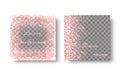 Diamond pink background