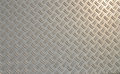 Diamond plate. Royalty Free Stock Photo