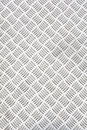Diamond plate or checker plate sheet also known as tread cross hatch kick and durbar floor Stock Photos