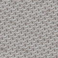 Diamond Plate - Chrome Grey Royalty Free Stock Images