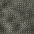 Diamond plate dirty Royalty Free Stock Image