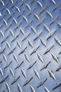 Diamond plate metal Royalty Free Stock Photo