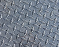 Diamond plate steel Royalty Free Stock Photo