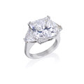 Diamond ring. Royalty Free Stock Photo
