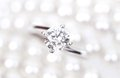Diamond Ring wedding gift Stock Images