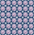 Diamond seamless Pattern / vector wallpaper Royalty Free Stock Photo