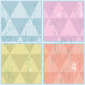 Diamond shaped pattern. Abstract, vector, EPS10 Royalty Free Stock Photo