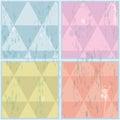 Diamond shaped pattern. Abstract, vector, EPS10 Royalty Free Stock Photo
