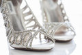 Diamond shoes Royalty Free Stock Photo