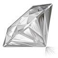 Diamond side view