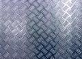 The diamond steel metal sheet Royalty Free Stock Photo