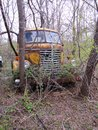 Diamond T. Trucking Company, Abandoned Royalty Free Stock Photo