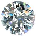 Diamond top view