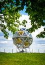 The diamond in villa demidoff park Royalty Free Stock Image