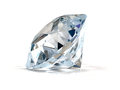 Diamond on white background Stock Photo