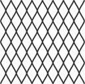 Diamonds seamless diagonal pattern. Rhombuses texture, mesh background