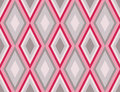 Diamonds seamless retro abstract pattern Royalty Free Stock Images