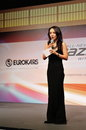 Diana Ser hosting launch of Mazda CX-5 Stock Images