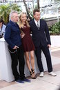 Diane Kruger, Ewan McGregor and Jean-Paul Gautier Stock Photography