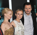 Diane Kruger,January Jones,Liam Neeson Royalty Free Stock Images