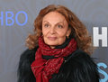 Diane Von Furstenberg Royalty Free Stock Photography