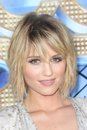 Dianna agron at the glee the d concert movie world premiere village theater westwood ca Royalty Free Stock Images