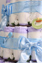 Diaper cake 6 Stock Image