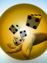 Dice 78 Royalty Free Stock Photo