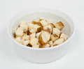Diced Potatoes Stock Image