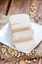 Diced Tofu Royalty Free Stock Photo