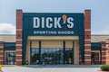 Dick s sporting goods storefront a selling and related items Stock Images