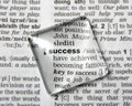 Dictionary definition of success Royalty Free Stock Photo