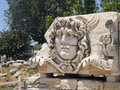 Didima Didyma Didim the famous head of Medusa Royalty Free Stock Photo