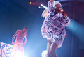 Die antwoord south africa electronic music band ninja and yolandi visser performs live during the first night of the sonar night Royalty Free Stock Photos