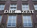Die Zeit headquarters in Hamburg Royalty Free Stock Photo