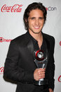 Diego Boneta arrives at the CinemaCon 2012 Talent Awards Royalty Free Stock Images