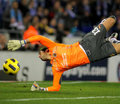 Diego Lopez of Villareal Royalty Free Stock Images