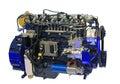 Diesel engine Stock Photo