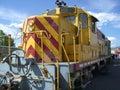 Diesel Engine Locomotive Stock Photography
