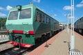 Diesel railcar defectoscopic AMD-Z-001 Royalty Free Stock Photo