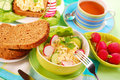 Diet breakfast Stock Photography