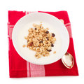Diet breakfast Royalty Free Stock Image