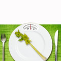 Diet concept on the light background Stock Photo