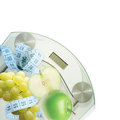 Diet consept fruit background Royalty Free Stock Photo